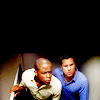 Blade: Psych | Shawn and Gus going round corner