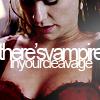 TV Whisperer: true blood - vampire cleavage