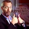 haruechan: House aproves