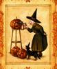 Ведьма с тыквой