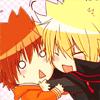 Ling: Giotto x Tsuna; hug