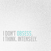 my mind is always somewhere else: Quotes ☆ Not obsessing