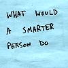 WORDS smarter person do