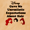 Bill: misc: disney hair