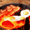 Alleliua: calcifer bacon eggs