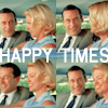 Don and Betty Draper - Happy Times
