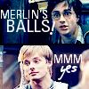 merlin: merlin's balls!