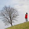 Solo Girl w/tree