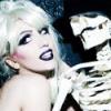 Lady Gaga skeleton