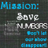 Save Numb3rs!