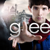 crazyboutremmy: glee merlin