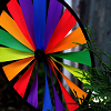 passing_through: rainbow wheel