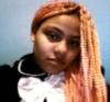 punk, orange, hair