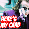 Here's my card