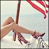 Natalie Ann Bruenner: she's got legs