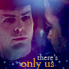 Jim/Spock only us