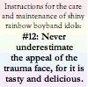 rule 12: trauma face