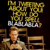 dipenates: Barney tweeting