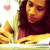 Angel writing