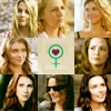 Fangirlage like WHOA.: SPN // Girls - I LOVE 'EM. <3
