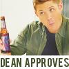 AutumnSparkle: Dean approves