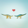 sarah sarah: stock → love and dinosaurs