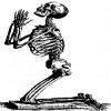 Skeleton pray