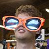 dazed, sunglasses, touristy