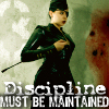 Discipline must be maintained