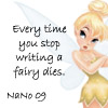 stop writing a fairy dies