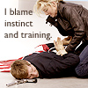 V - Erica Blame Instinct and Training