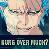 lost in the sun: Bleach - Grimmjow - Hung over much?