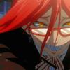 "Grell Sutcliffe (Shizushi - ""The Bloody Geisha"" ): wicked"