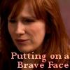 Katherine: DW - Donna putting on brave face