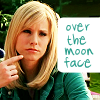veronica mars over-the-moon face