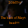 back of riley's head