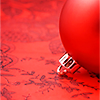holidays - christmas - red ornament