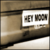 hey moon sticker