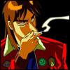 Кайджи курит