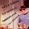 ennui_blue_lite: Star Trek - Spock's bisexual Tribble
