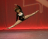 dance splits jump