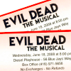 SPLATTER ZONE - evil dead: the musical.