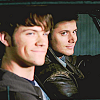 smiling dean and sam