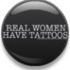 women, tattoo, real