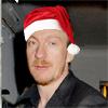 David Thewlis - santa hat