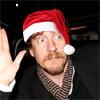 David Thewlis - santa hat 2