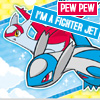 Kimbotron: Pokemon: Lati fighter jets