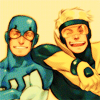Blue Beetle, Booster Gold