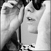 aschicca: QaF_Randy Warhol black and white close u