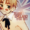 Arthur 'Earl Grey' Kirkland: aph: team england you git